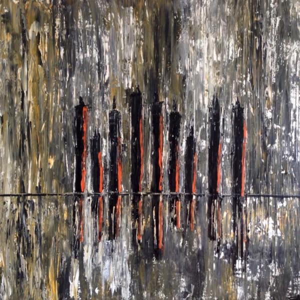 Exposition Vibrations- Sab artiste peintre